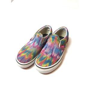 Vans Slip-on Rainbow Sneakers Youth Size 13.5